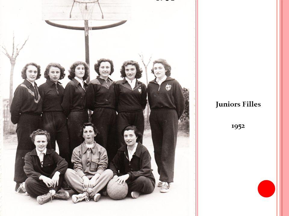Juniors Filles 1952