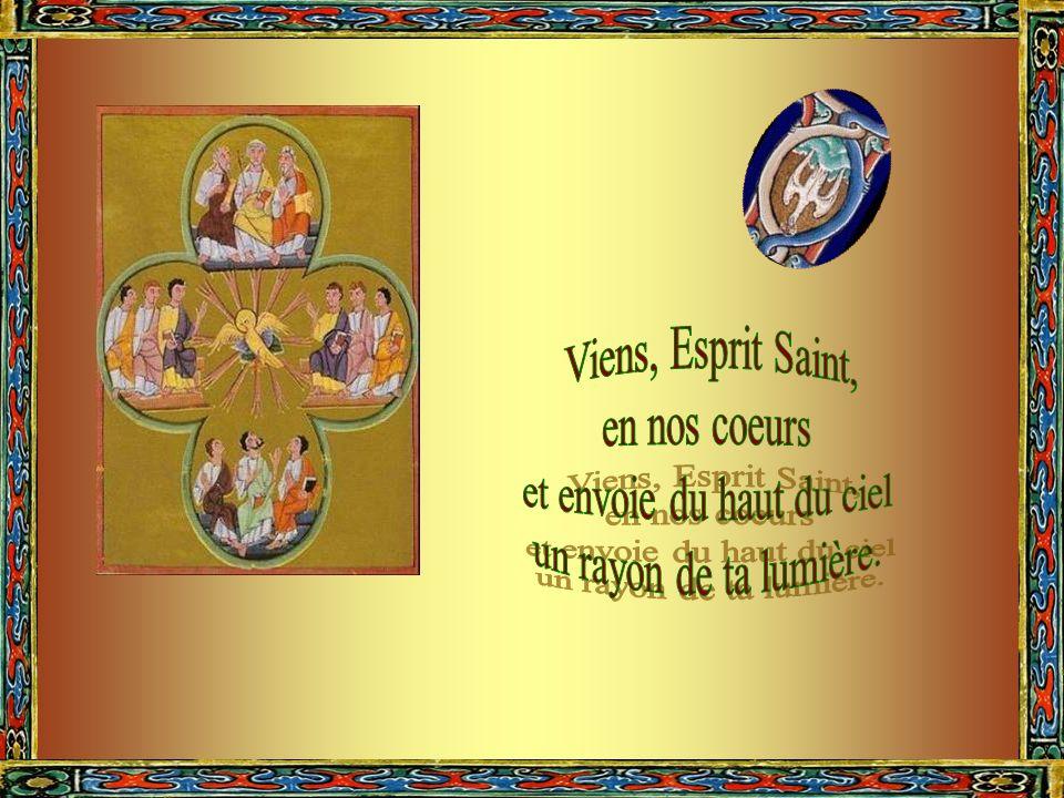À tous ceux qui ont la foi et qui se confient en toi. Ô Esprit Saint, donne les sept dons sacrés. remet lhomme à sa place par lhumilité ouvre son cœur