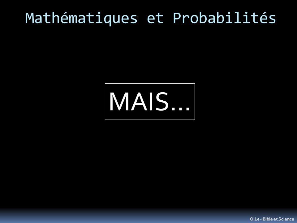 Mathématiques et Probabilités O.Le - Bible et Science MAIS…