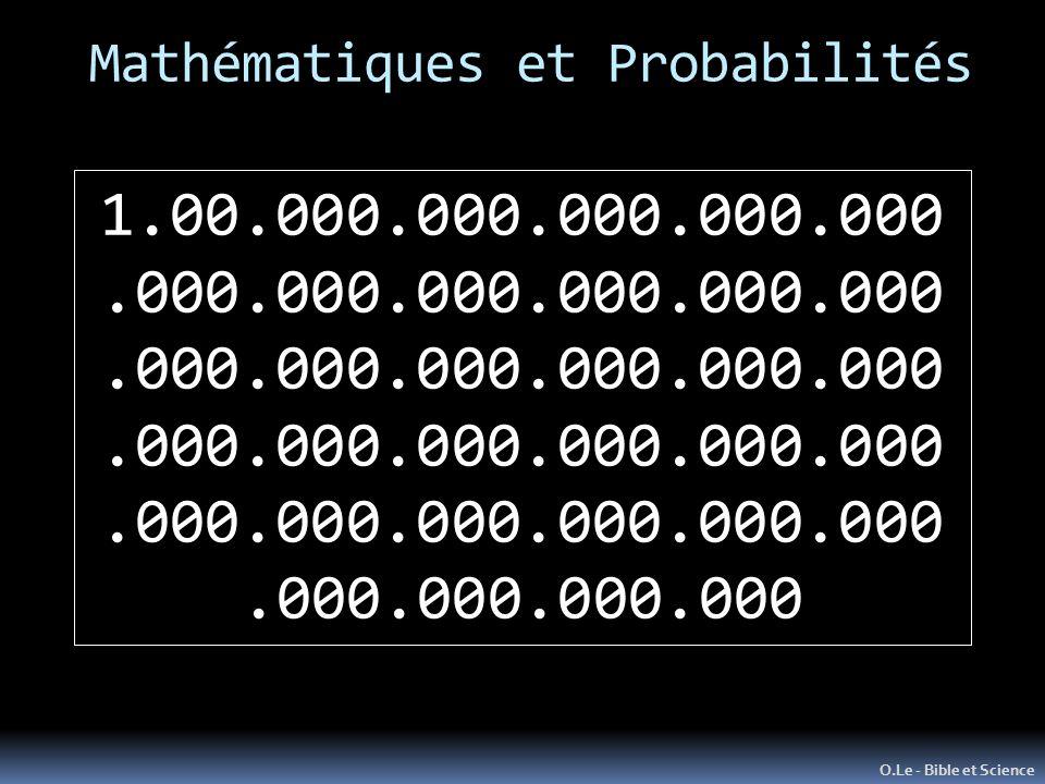 Mathématiques et Probabilités O.Le - Bible et Science 1.00.000.000.000.000.000.000.000.000.000.000.000.000.000.000.000.000.000.000.000.000.000.000.000