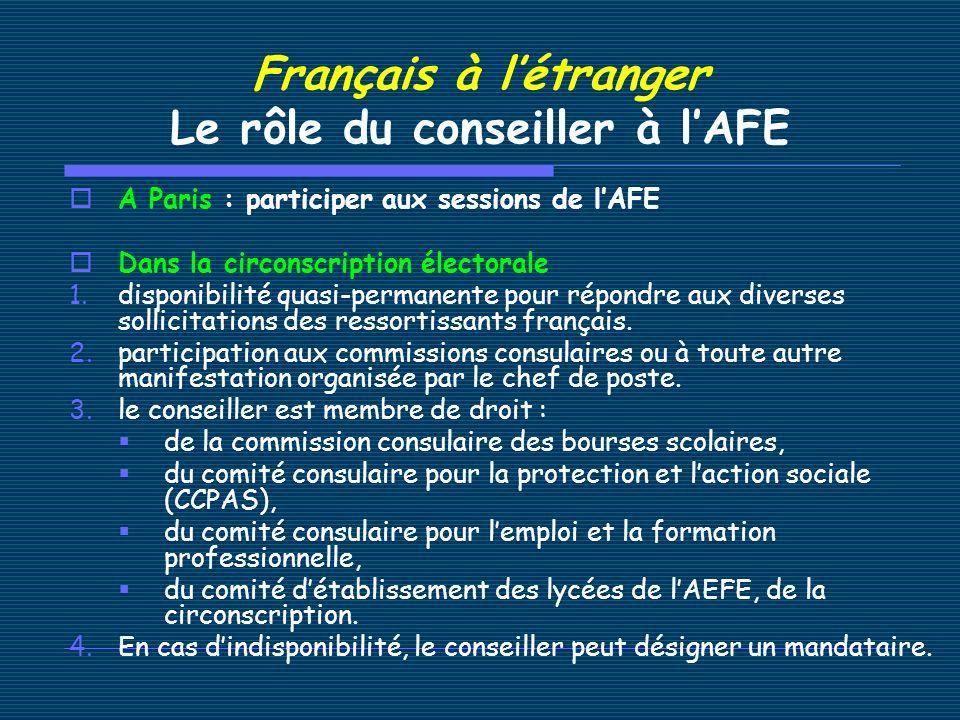 Français à létranger La vie associative Deux associations rassemblent les français de létranger : 1.Français du Monde ADFE Son site : http://www.francais-du-monde.org/ 2.