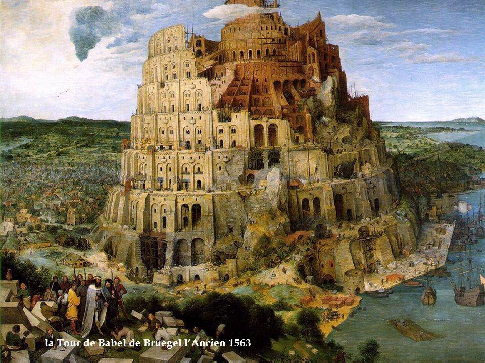 la Tour de Babel de Bruegel lAncien 1563