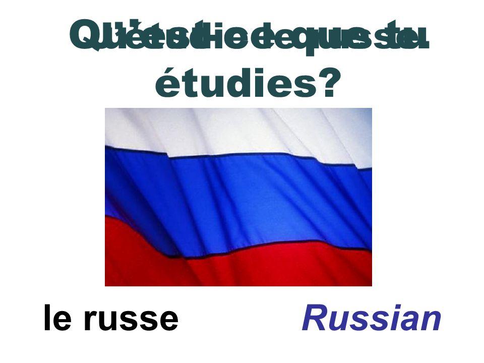 litalien Italian Jétudie litalien. Quest-ce que tu étudies?