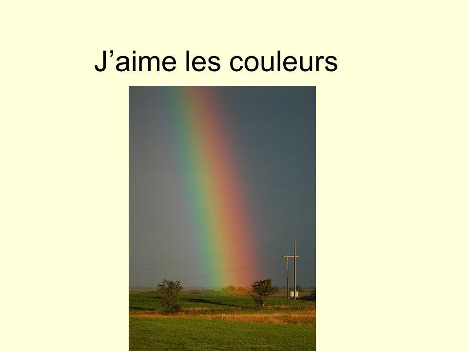 Jaime les couleurs