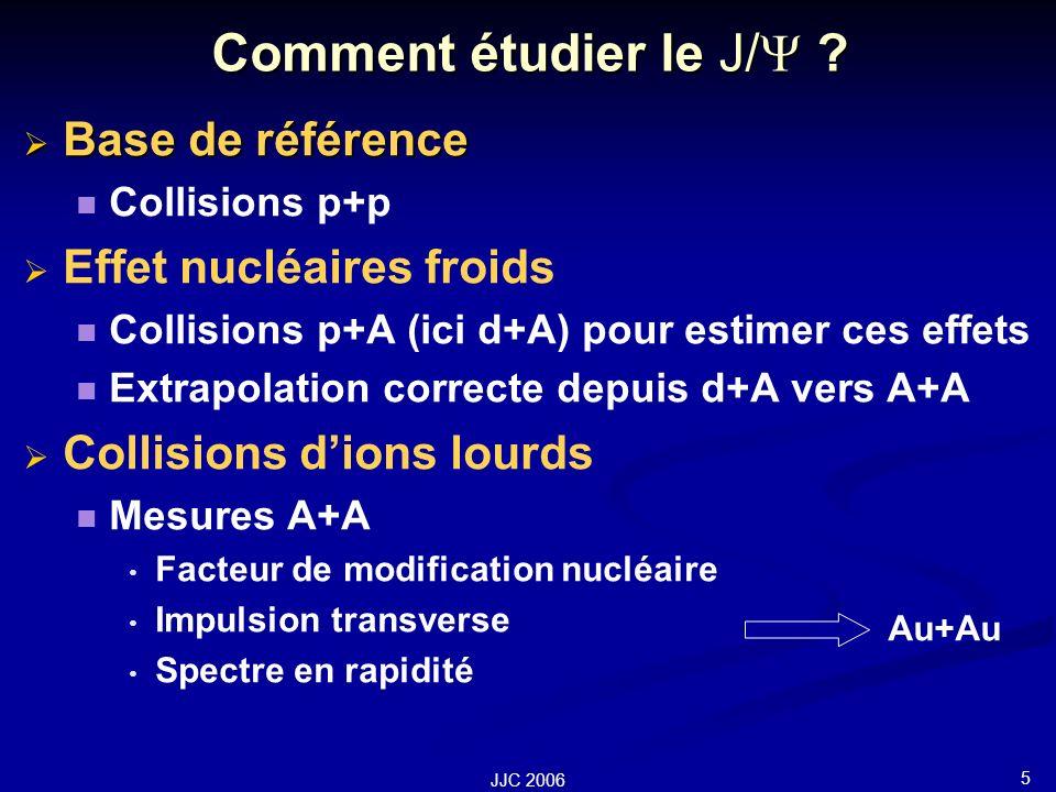 5 JJC 2006 Comment étudier le J/ .