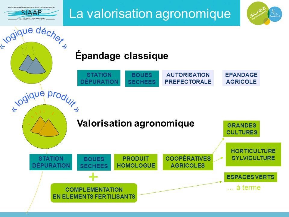 Épandage classique STATION DÉPURATION AUTORISATION PREFECTORALE BOUES SECHEES EPANDAGE AGRICOLE COMPLEMENTATION EN ELEMENTS FERTILISANTS Valorisation