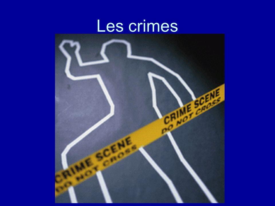 Les crimes