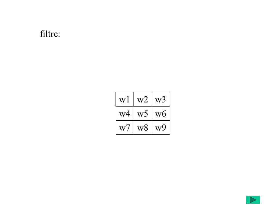 w1 w4 w7 w2 w5 w8 w3 w6 w9 filtre: