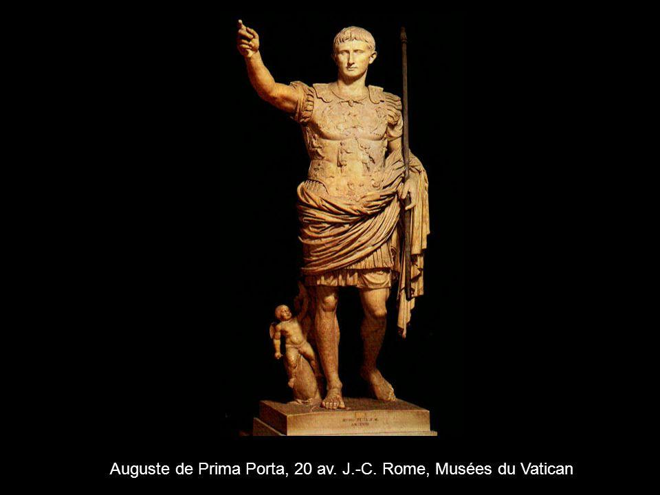 Auguste de Prima Porta, 20 av. J.-C. Rome, Musées du Vatican