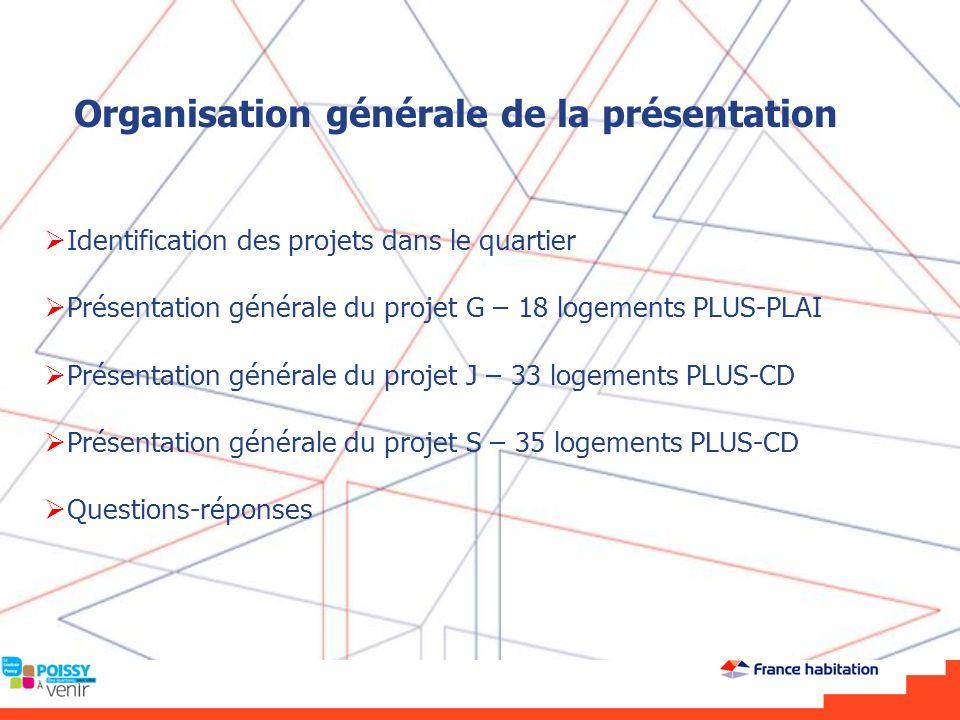 Îlot J - 33 logements PLUS-CD Plan masse