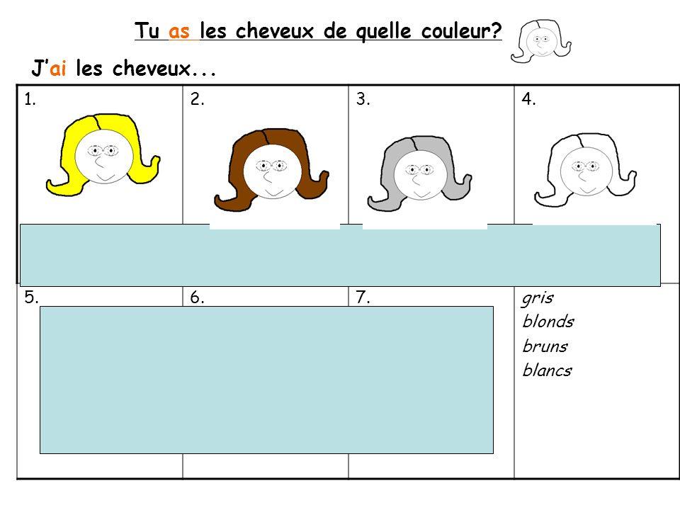 1.Remplis les trous Bonjour, Je mappelle Marie et jai _______ans.