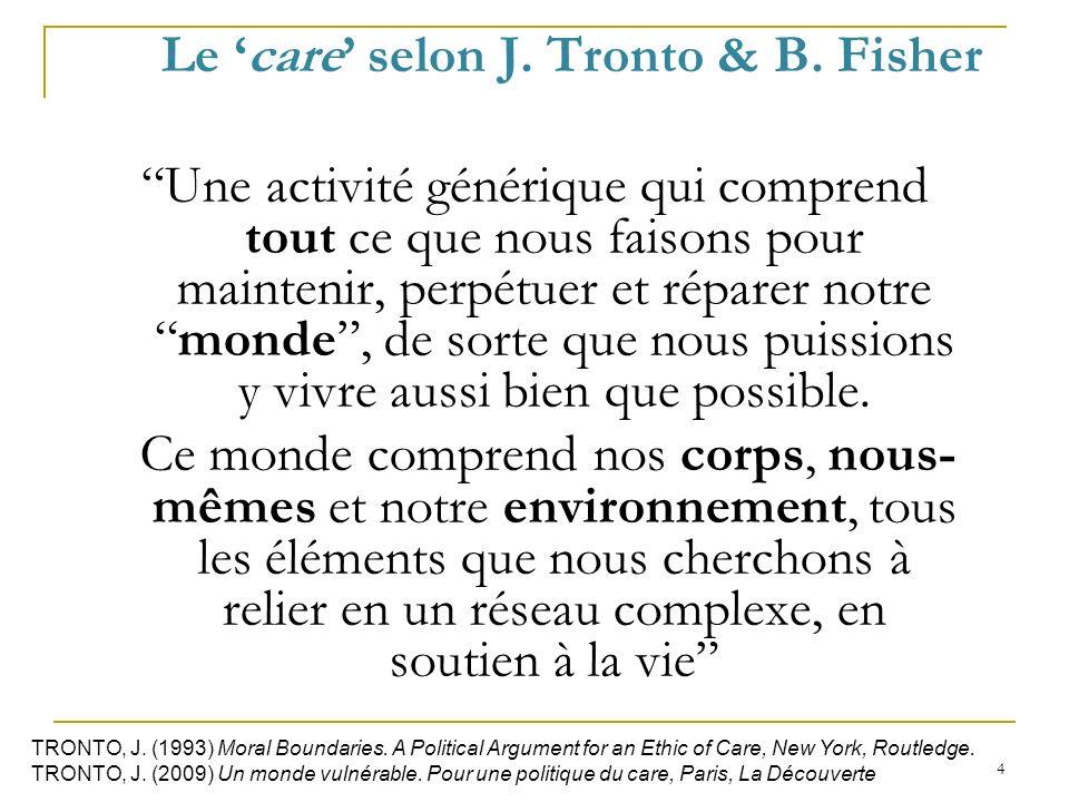 5 CARE CAPACITANT & RESPONSABILISATION CAPACITANTE Soin à légard de soi-même (Dupuis, 2013) Soucie-toi de toi (Socrate)