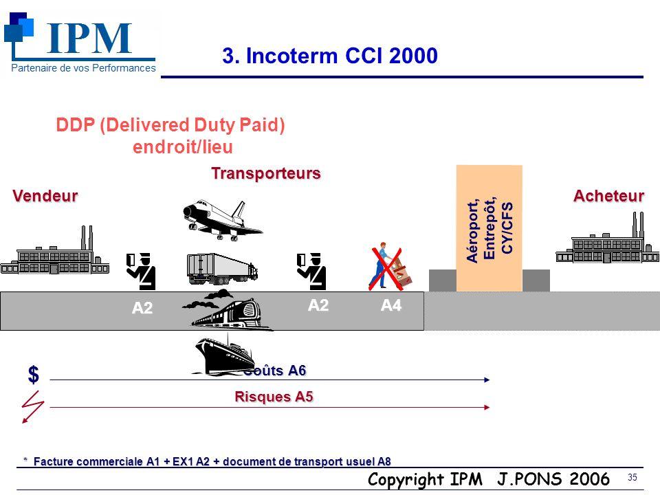 Copyright IPM J.PONS 2006 34