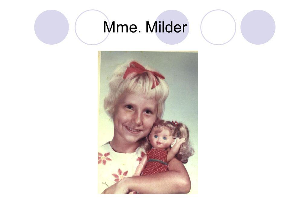 Mme. Milder
