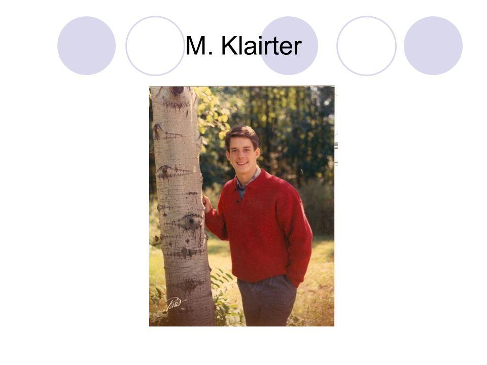 M. Klairter
