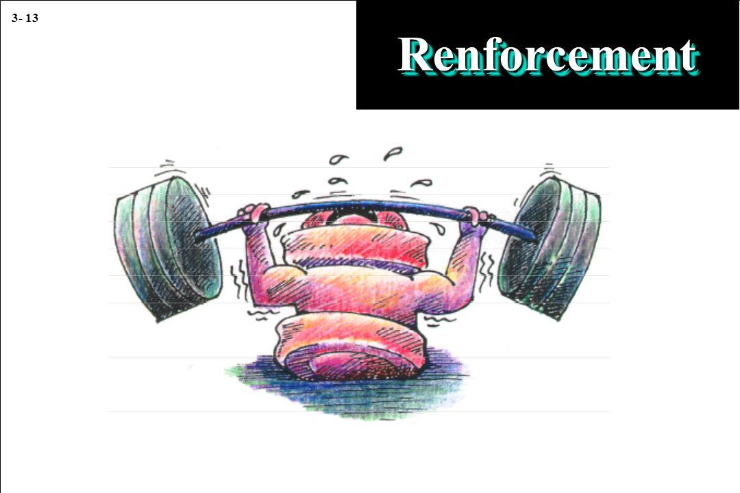 3- 13 RenforcementRenforcement