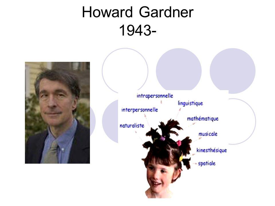 Howard Gardner 1943-