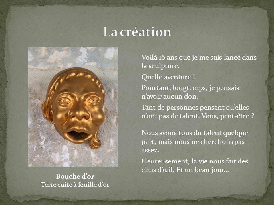 Mon ancienne « prof » de sculpture a acheté une maison à La Ferté Milon, une petite ville médiévale sur la route de Soissons.