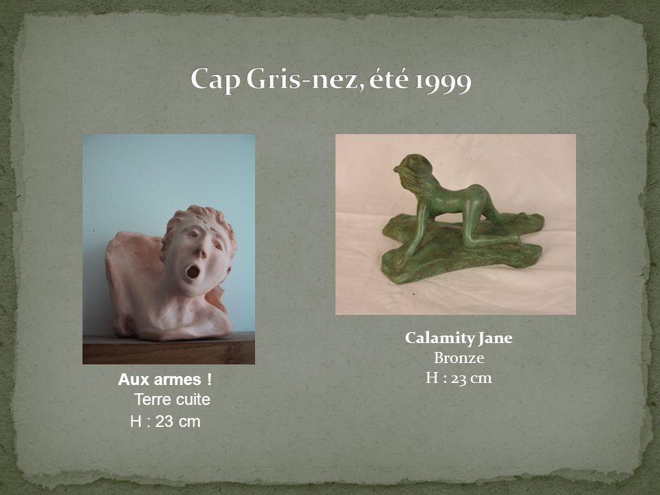Calamity Jane Bronze H : 23 cm Aux armes ! Terre cuite H : 23 cm