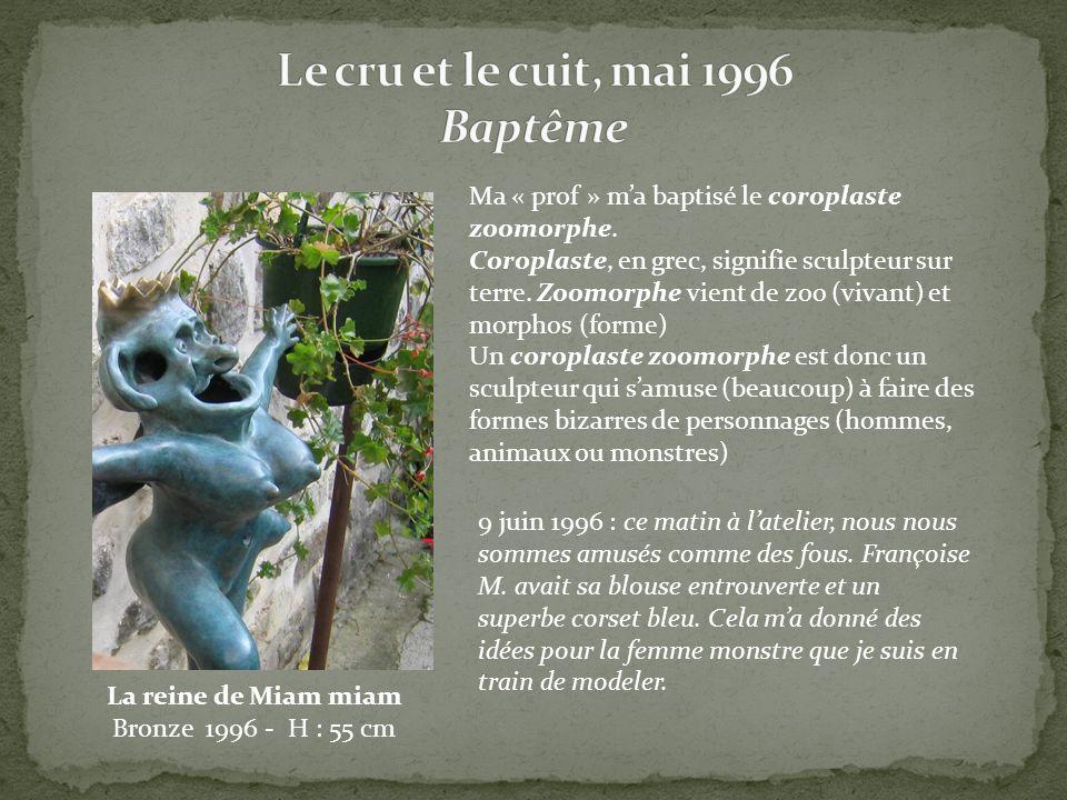 Ma « prof » ma baptisé le coroplaste zoomorphe. Coroplaste, en grec, signifie sculpteur sur terre. Zoomorphe vient de zoo (vivant) et morphos (forme)
