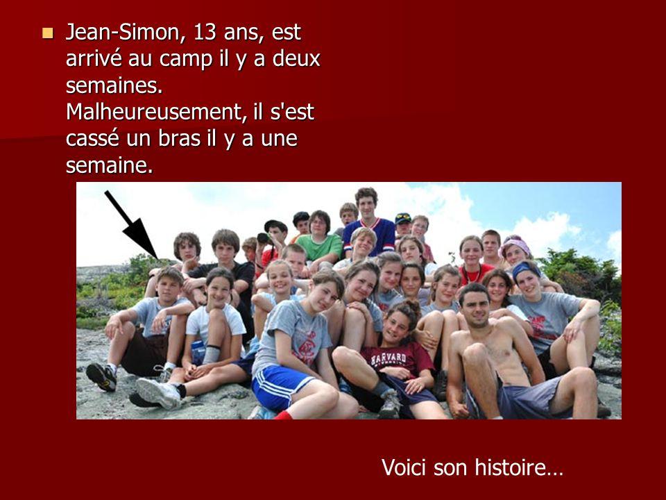 Les aventures de Jean-Simon au camp Tékakwitha Ne pas cliquer…