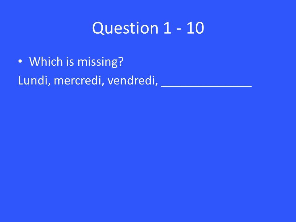 Answer 2 – 10 Jai seize ans.