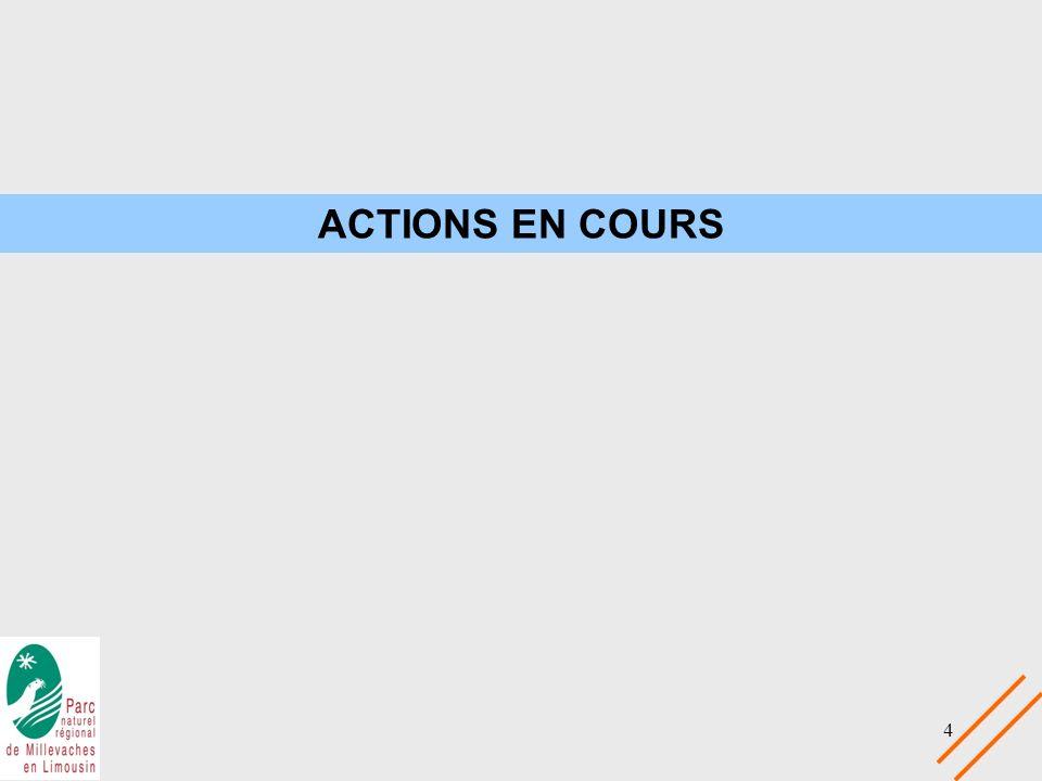 4 ACTIONS EN COURS