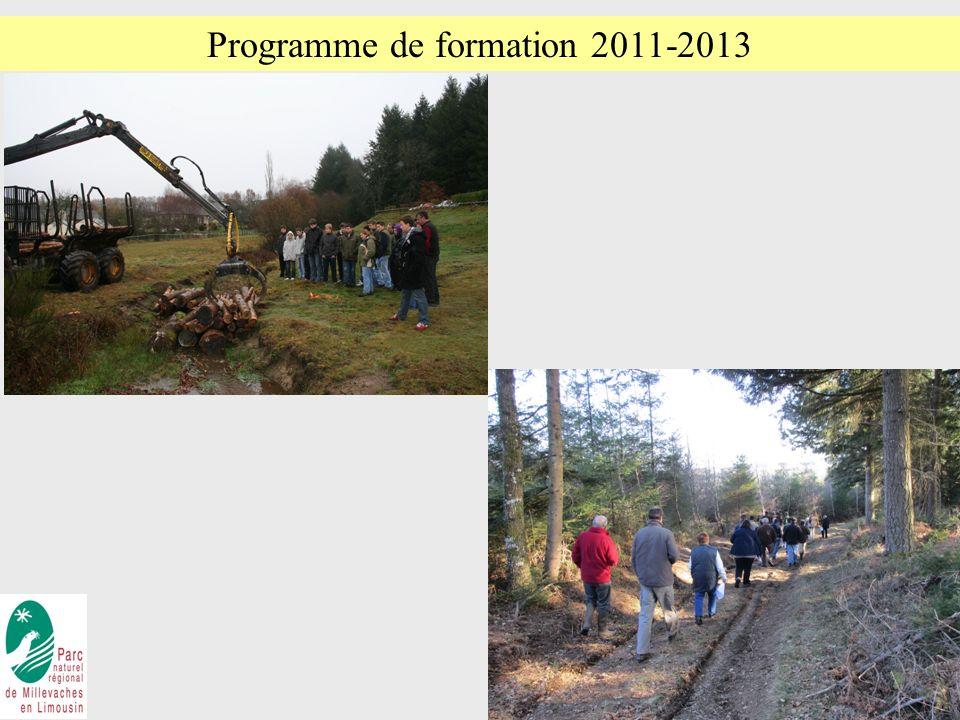 6 Programme de formation 2011-2013