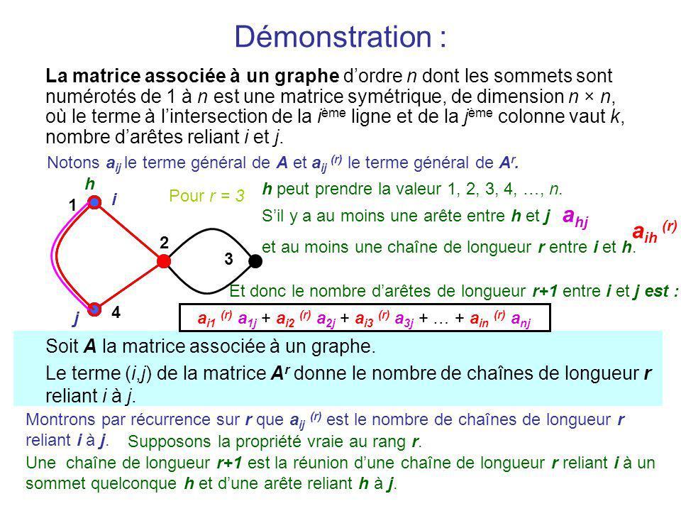 a i1 (r) a 1j + a i2 (r) a 2j + a i3 (r) a 3j + … + a in (r) a nj