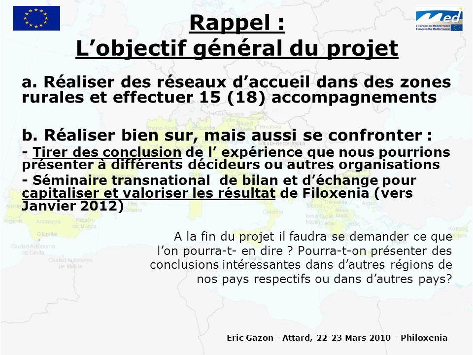 (II.1) Lexpérimentation pendant 3 mois (Jan.-Fév.-Mars 2010) Ce que dit le projet a.