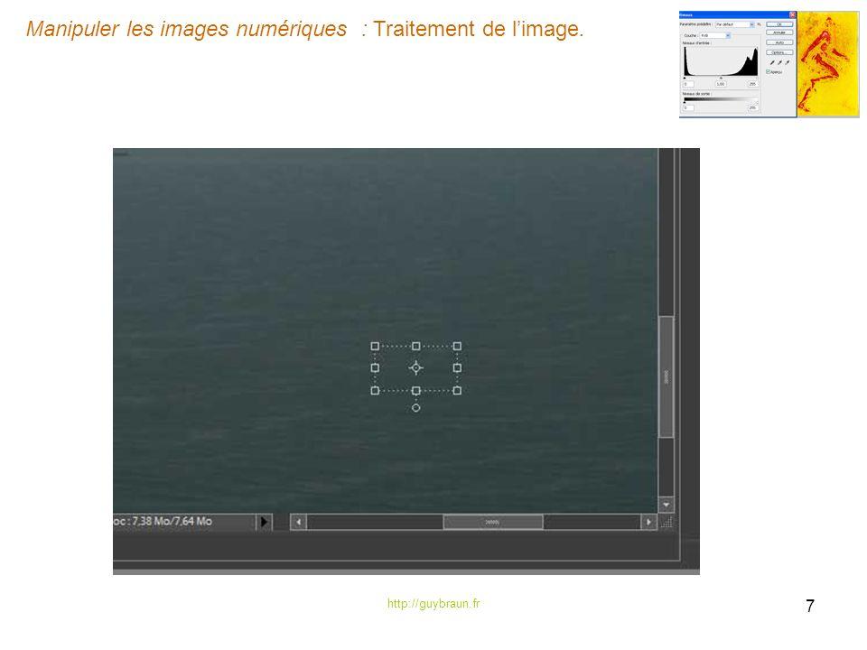 Manipuler les images numériques : Traitement de limage. http://guybraun.fr 7