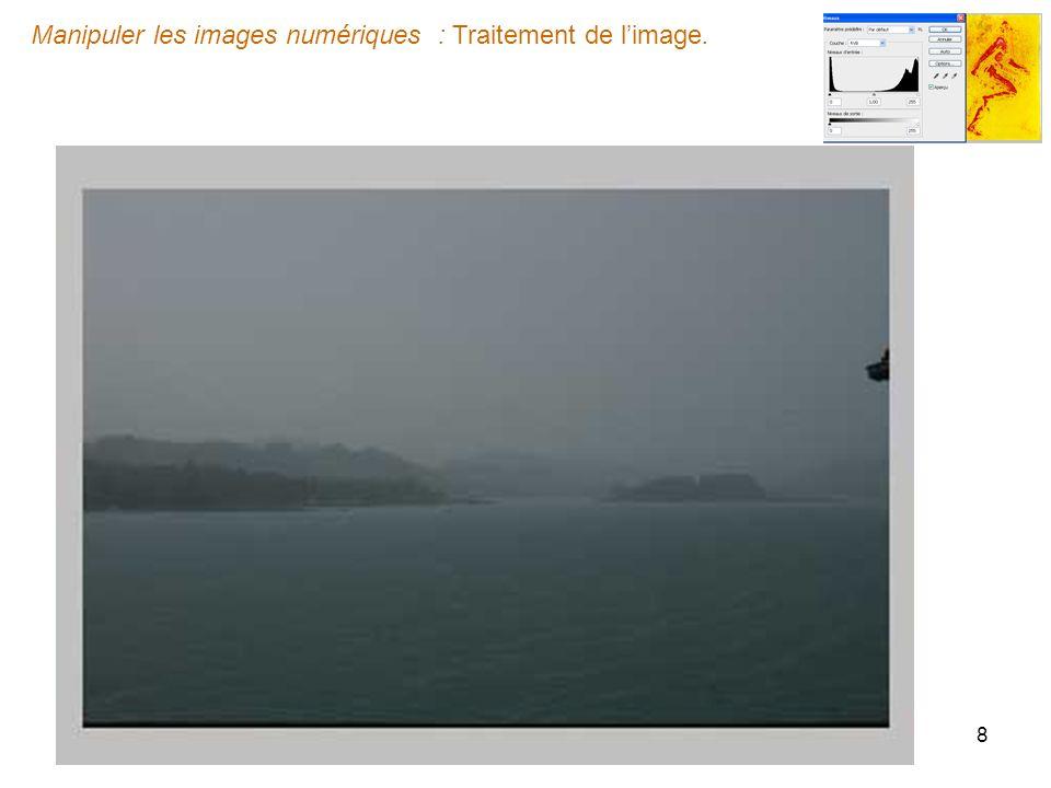 Manipuler les images numériques : Traitement de limage. http://guybraun.fr 19