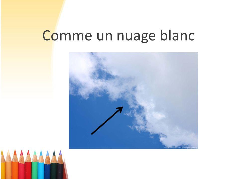 Comme un nuage blanc