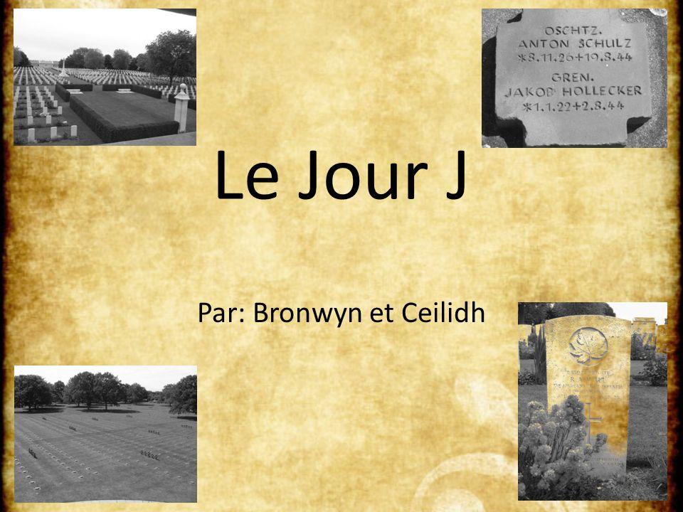 Le Jour J Par: Bronwyn et Ceilidh