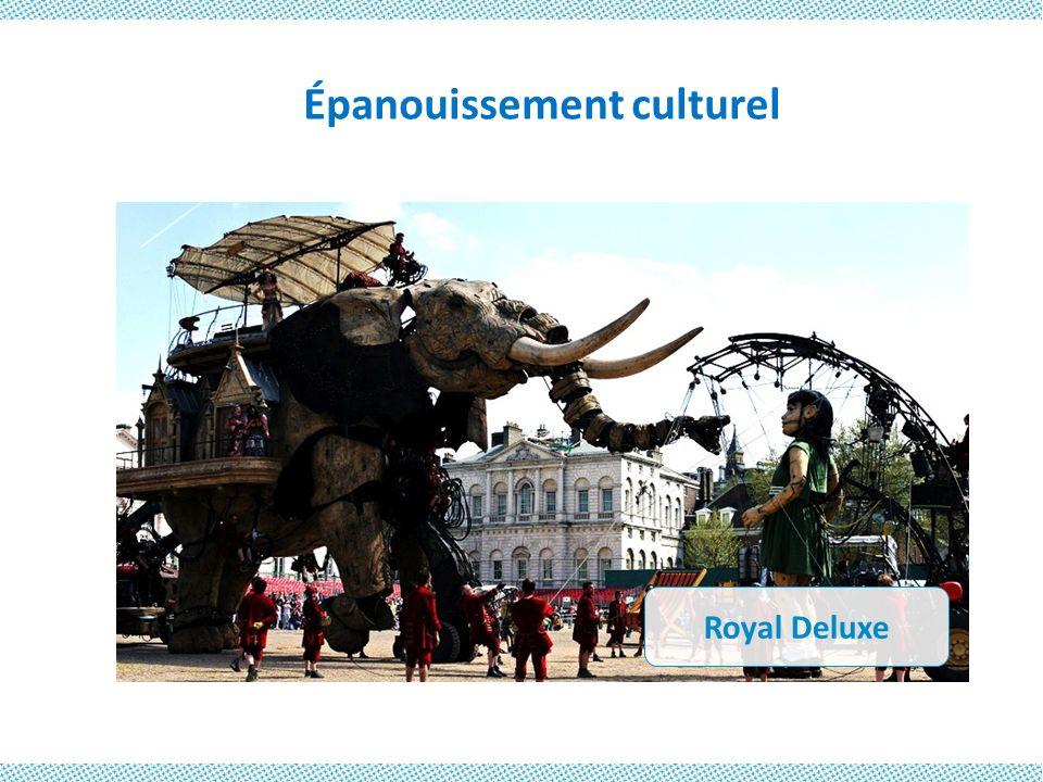 Épanouissement culturel Royal Deluxe