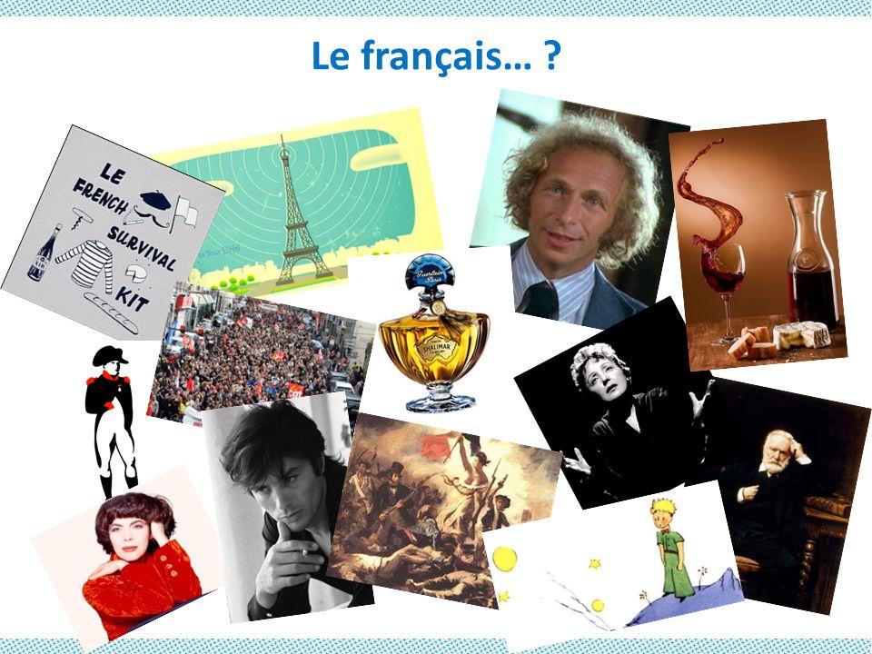 …et linguistique Près de 50% des mots anglais viennent… du français !