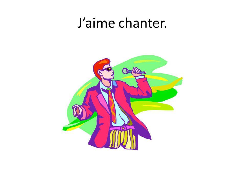 Jaime chanter.