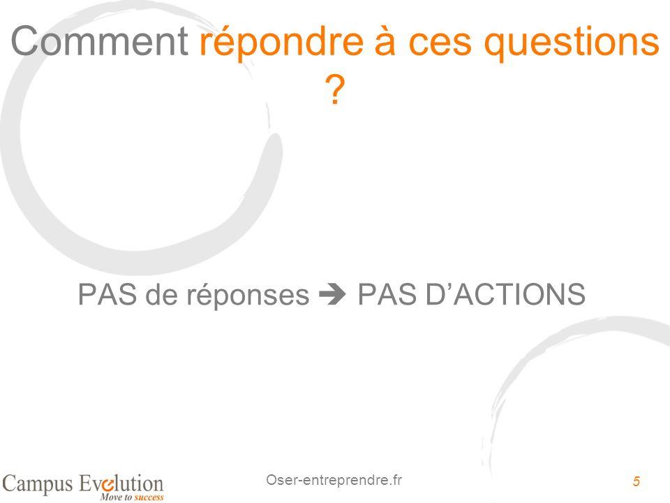 26 Oser-entreprendre.fr 2.Identifiez vos valeurs, vos priorités de vie 1.