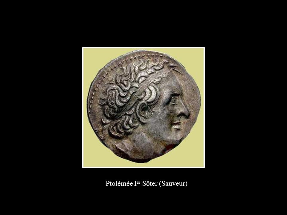 Ptolémée I er Sôter (Sauveur)