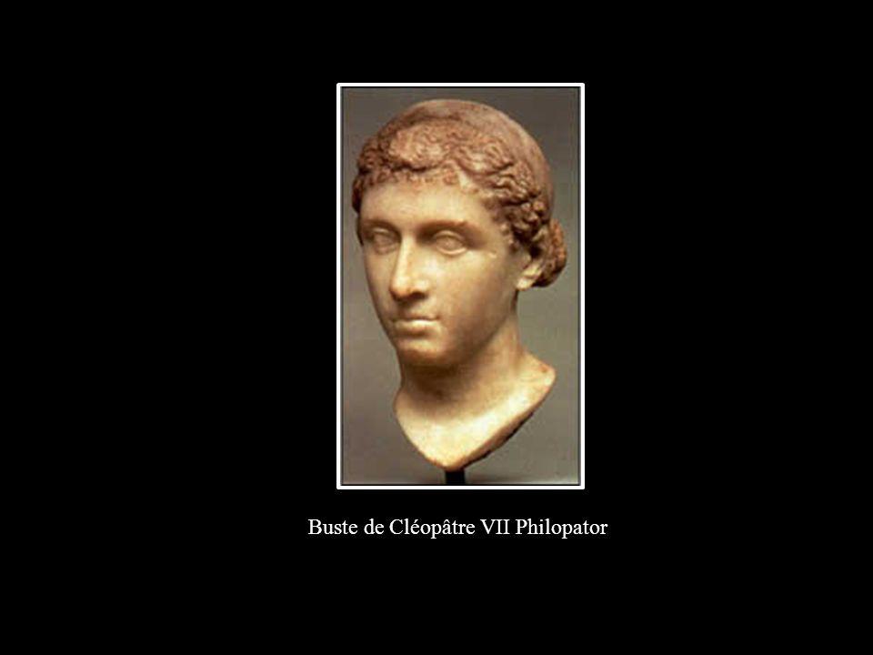 Buste de Cléopâtre VII Philopator