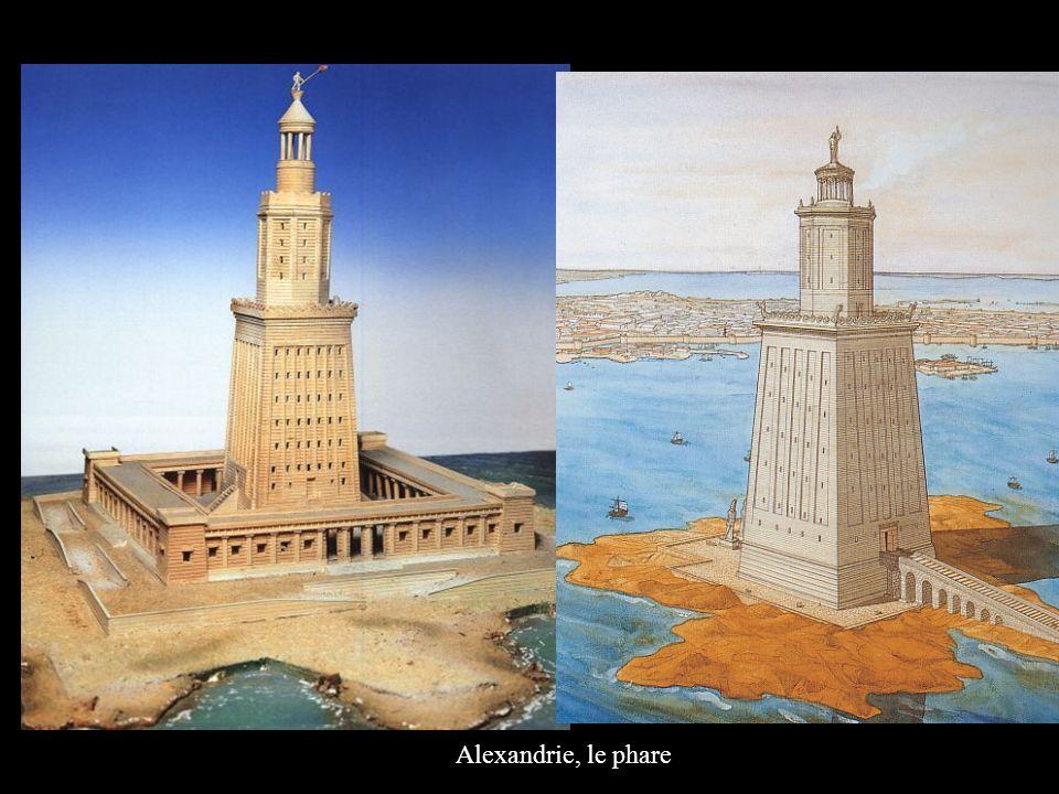 Alexandrie, le phare