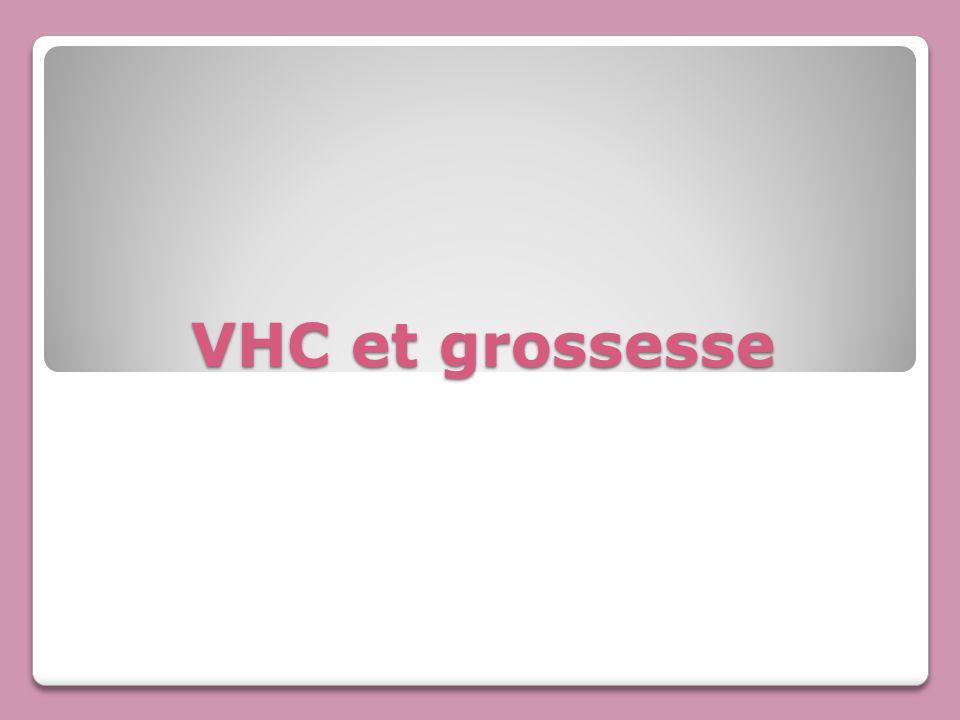 VHC et grossesse