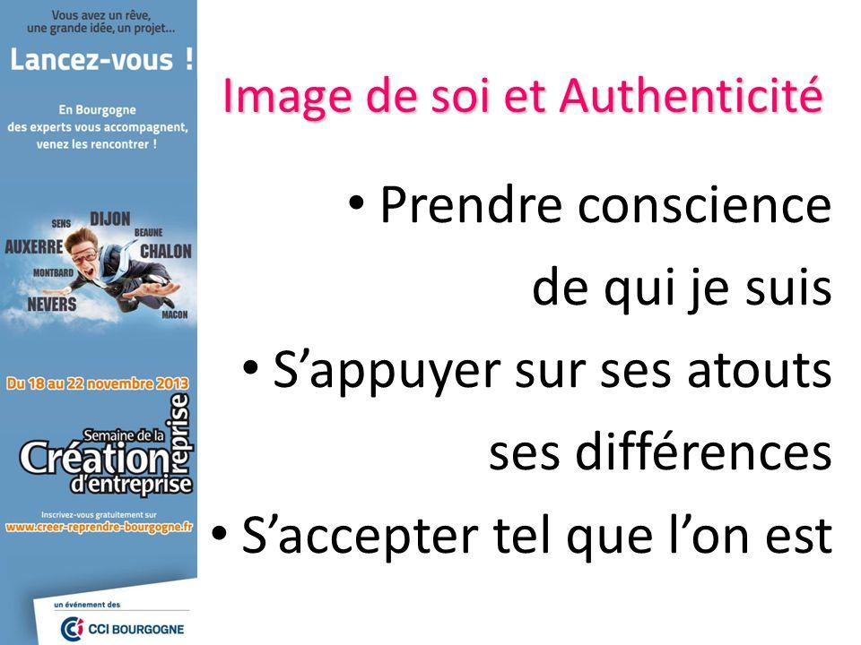 Prendre conscience de qui je suis Sappuyer sur ses atouts ses différences Saccepter tel que lon est Image de soi et Authenticité