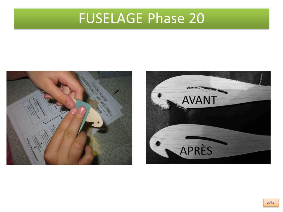 FUSELAGE Phase 20 AVANT APRÈS suite