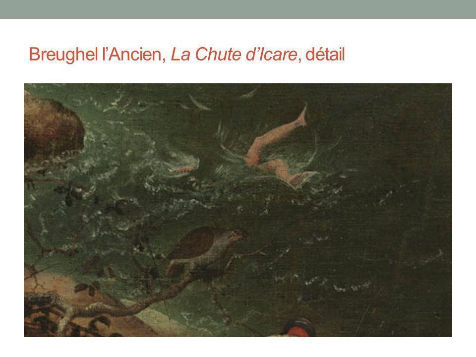 Breughel lAncien, La Chute dIcare, détail