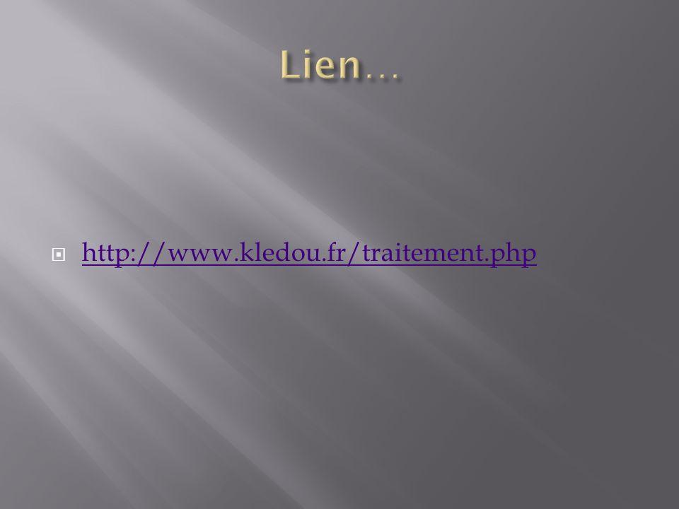 http://www.kledou.fr/traitement.php