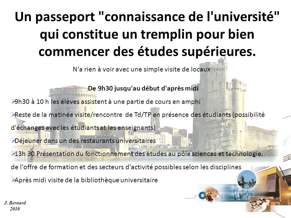 J. Bernard 2010 Un passeport