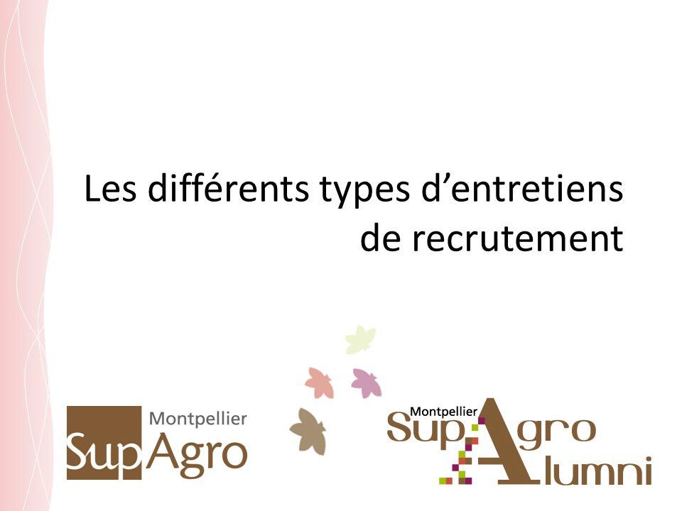 Les différents types dentretiens de recrutement
