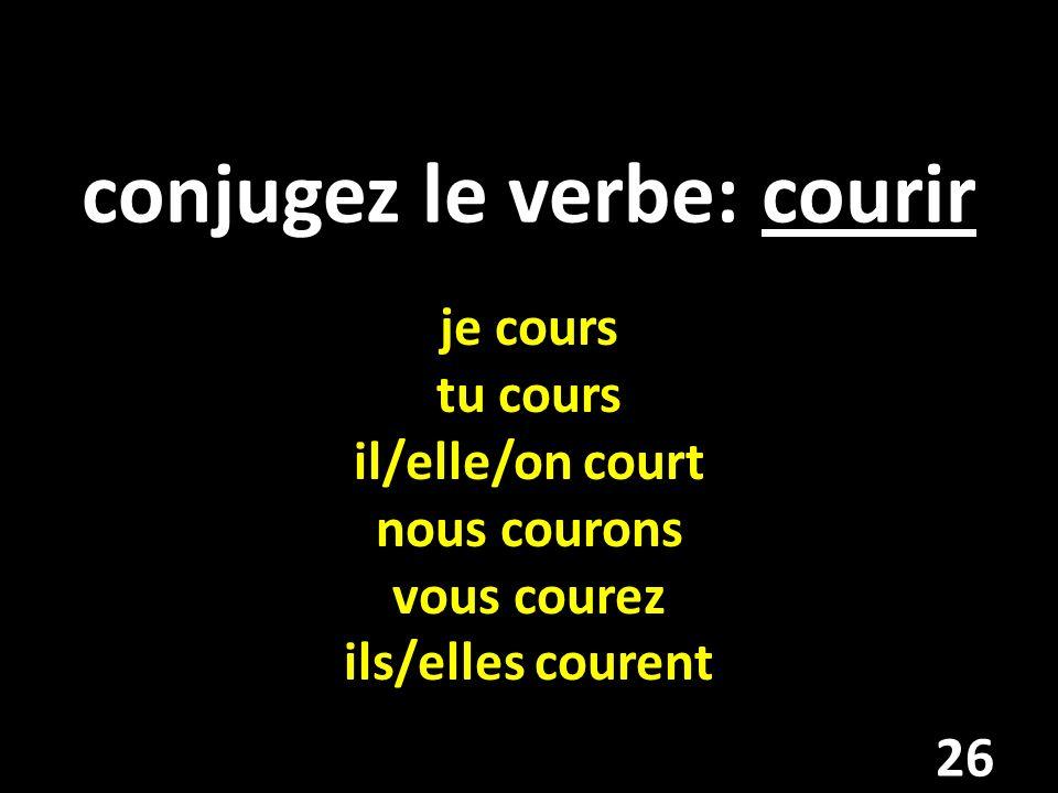 Elle va ___ très bonne en français. A. revenir B. venir C. devenir D. avoir C 27