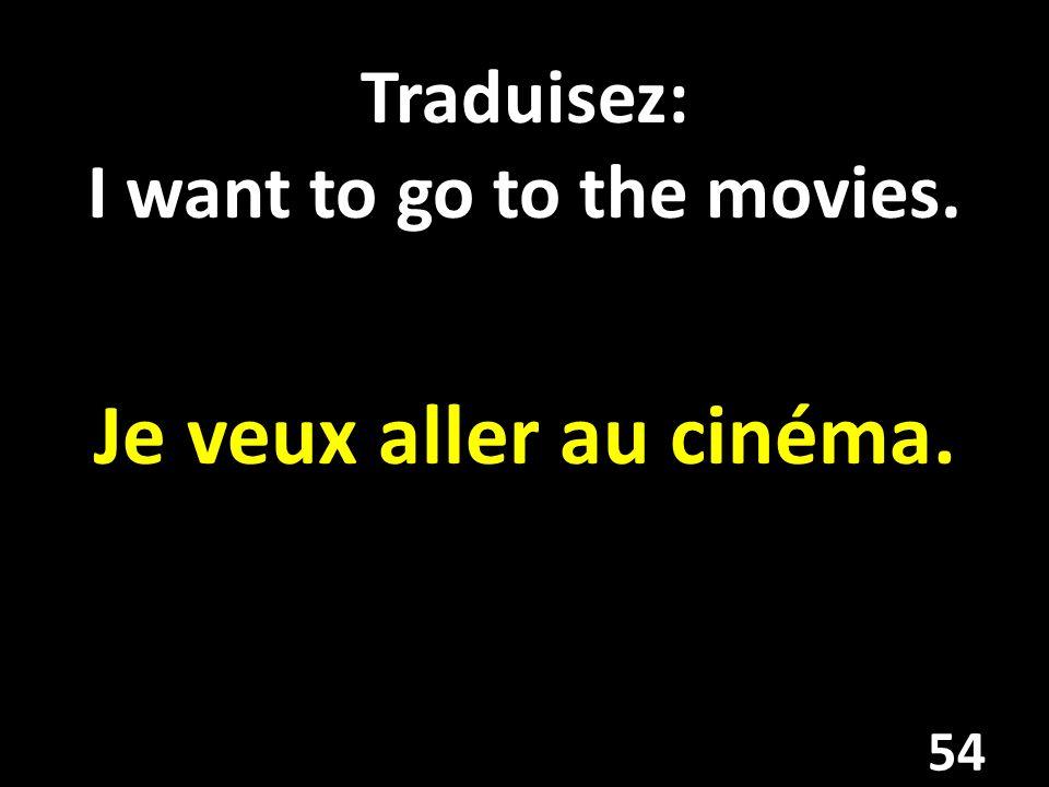 Traduisez: My favorite actor is George Clooney. Mon acteur favori (préféré) est George Clooney. 55